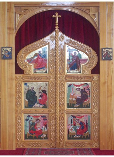 St John the Wonderworker Church - Royal Doors